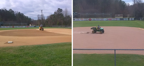 Baseball Infield Maintenance